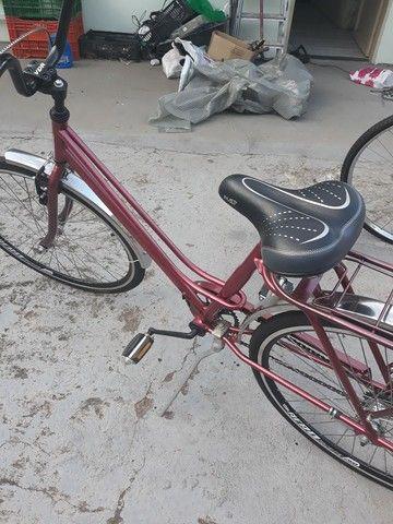 Vendo Uma bicicleta antiga Caloi Pott tudo novo - Foto 4