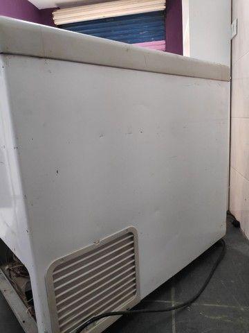 Freezer porta de vidro 400 Litros