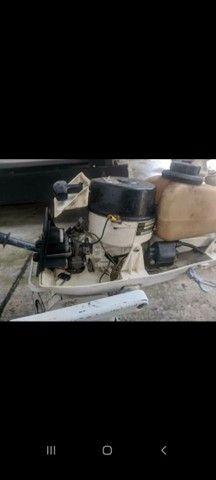 Motor Johnson 3.3 HP 2T * - Foto 3