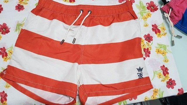 shorts de praia / calçao / bermuda - sergio k - tamanho m - original - pouco usado - Foto 2
