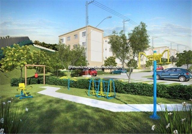 WR Vendo apartamento de 2 quartos perto da estação de Camaragibe - Foto 6