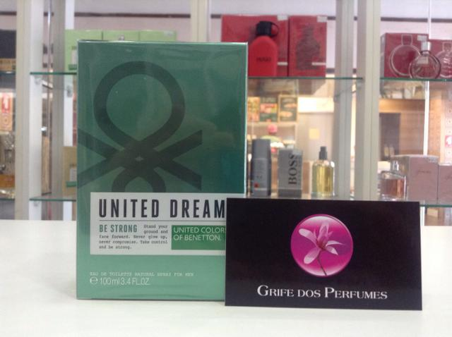 Perfume be Strong edt 100ml united dreams benetton