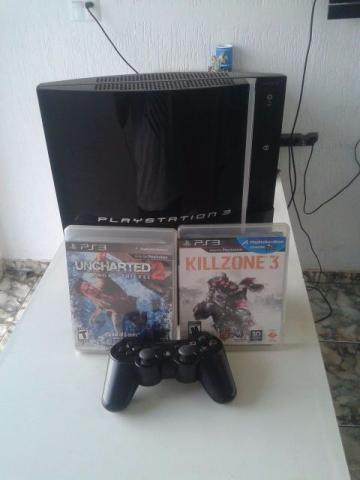 Ps3 fat com hd 320