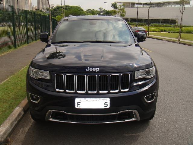 High Quality Jeep Grand Cherokee Limited 4x4 Azul 2014   Muito Nova !
