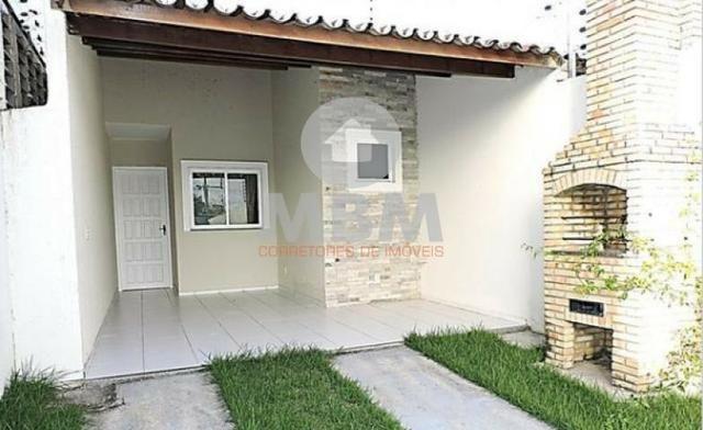 Vendo casa no Eusébio com 2 suítes, pronta para morar. 159.990 excelente localização