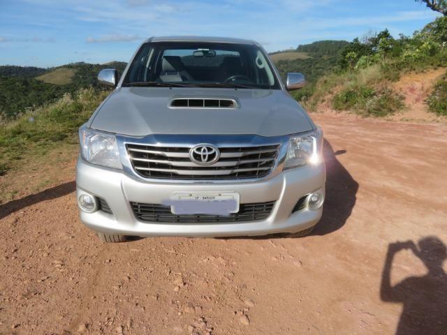 Hilux Diesel 3.0, 4x4 Automática modelo SRV Único dono, Estado de nova - Foto 8