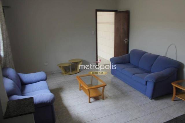 Sobrado com 4 dormitórios para alugar, 246 m² por R$ 4.000/mês - Cerâmica - São Caetano do - Foto 3
