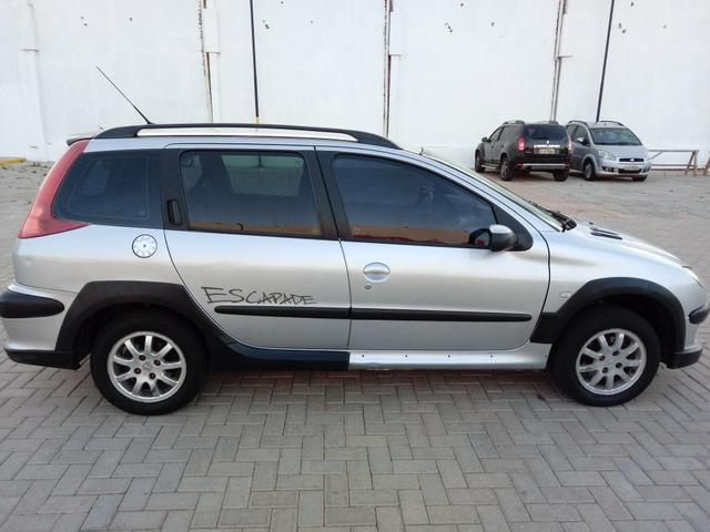 Peugeot escapade 2007 1.6 completo top!!!! carro extra - Foto 18