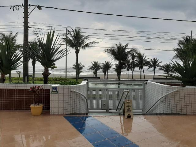 Locação definitiva - Praia Grande - Caiçara - Frente ao Mar - 01 dormitório - Foto 13