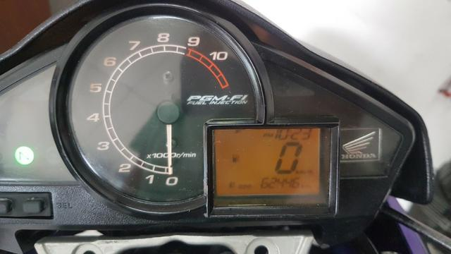Honda cb 300 r 2011 azul - Foto 6