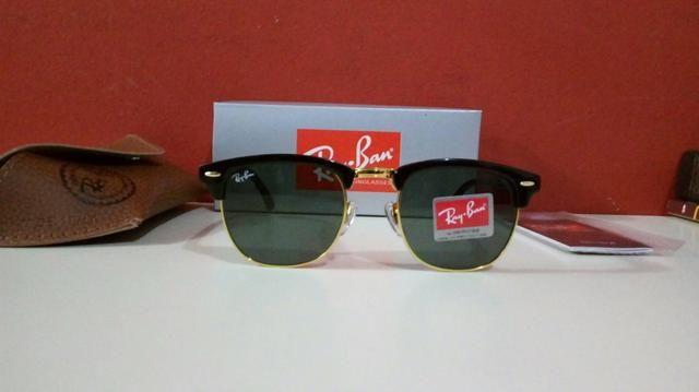 Óculos de sol Ray Ban Clubmaster Classico Unissex Novo Frete Grátis ... 98f7cb8148