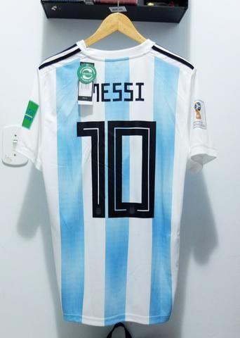 10d9dcabcf Camisa Argentina Home 2018 - Messi 10 - Roupas e calçados - Chácara ...