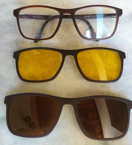 Armacao óculos clip on polarizado night drive - Bijouterias ... 0ec9456f16