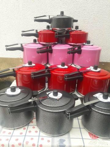 Panelas de pressão 10 litros - Foto 2