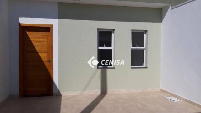 Casa com 2 dormitórios à venda, 60 m² - Jardim Residencial Nova Veneza - Indaiatuba/SP - Foto 14