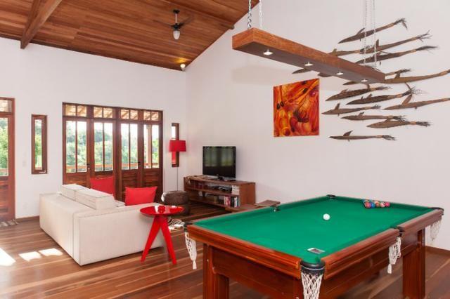 Casa de luxo 5 suites e wi-fi. 100 km de praia do Forte. Vista Paradisiaca - Foto 9