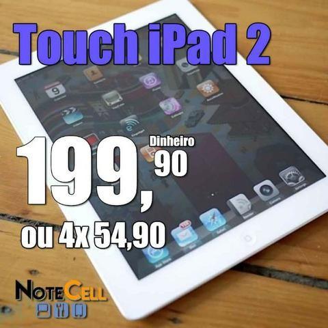 Touch iPad 2 - A1396 - Instalação no mesmo dia
