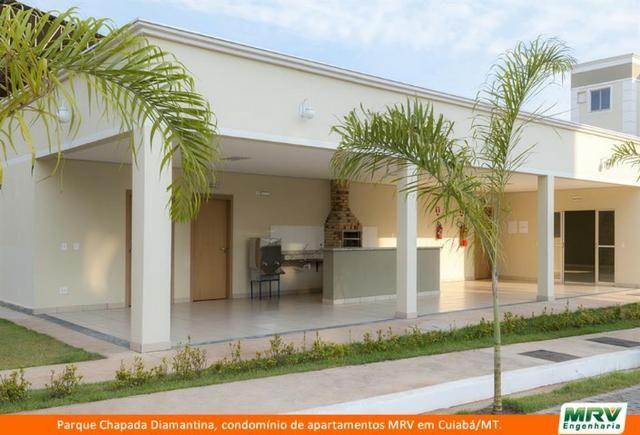 RARO! Apartamento 2 Quartos com Jardim Privativo. Parque Chapada Diamantina MRV - Foto 5