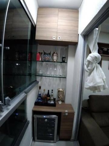 Excelente apartamento 2 Quartos com suíte montado e decorado - Foto 6
