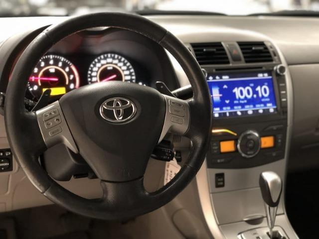 Toyota Corolla XEI 2.0 Flex VVT-I Automático 2013 - GNV - - Foto 11