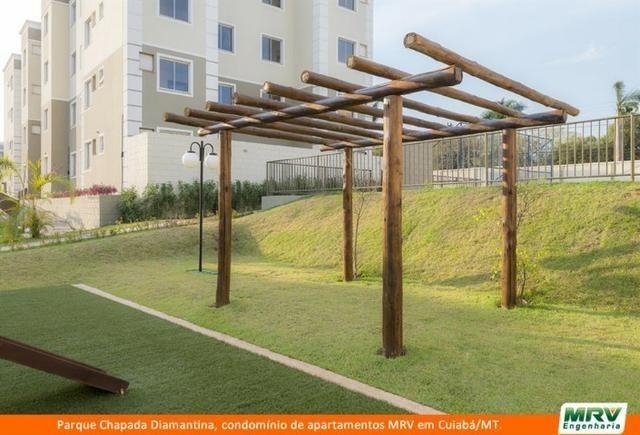 RARO! Apartamento 2 Quartos com Jardim Privativo. Parque Chapada Diamantina MRV - Foto 7
