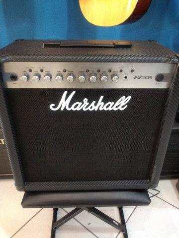 Amplificador p/ guitarra Marshall MG 50cfx (Mixer Instrumentos Musicais) - Foto 2