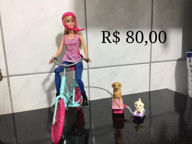 Barbies e outras (preços nas fotos) - Foto 3