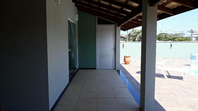 Casa com Piscina Temporada Praia do Ervino - Foto 8