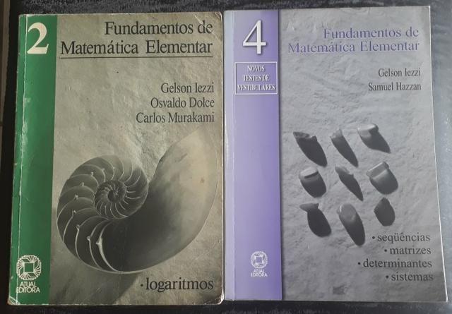Fundamentos da Matemática Elementar 1, 2, 4, 5, 6 e 9 - Foto 2