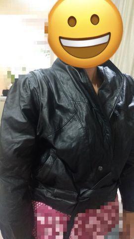Jaqueta de couro motociclista 2 peças R$ 120,00 cada - Foto 2