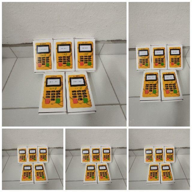 Somente 70, máquinetas minizinha chip2, chip ilimitado, novas