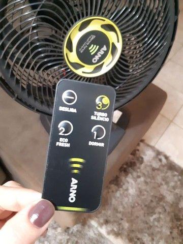 Ventilador De Mesa Arno 40cm Silence Force Touch Controlvf6m