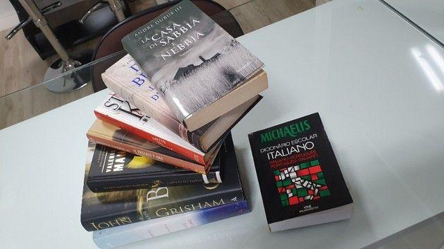 super coleção livros importados Itália - novos - imperdível