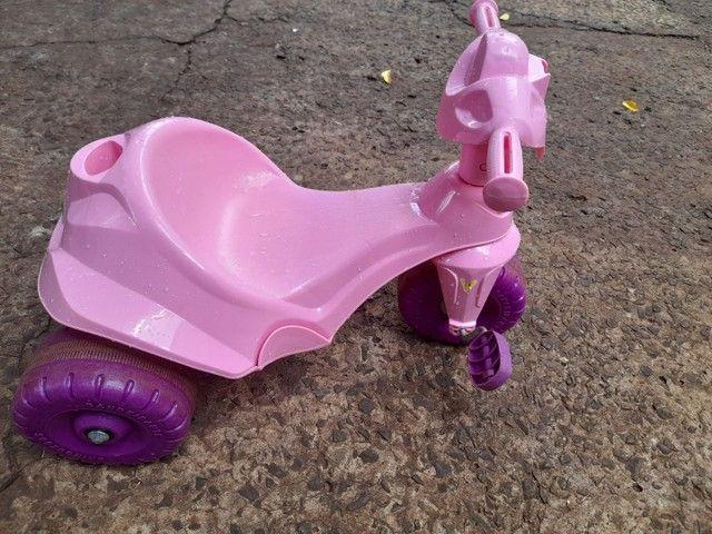 Triciclo Motoka Flower - Passeio e Pedal - Bandeirante - Foto 5