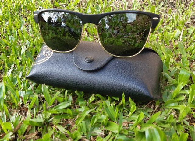 Óculos de Sol Ray-Ban Clubmaster - Foto 2