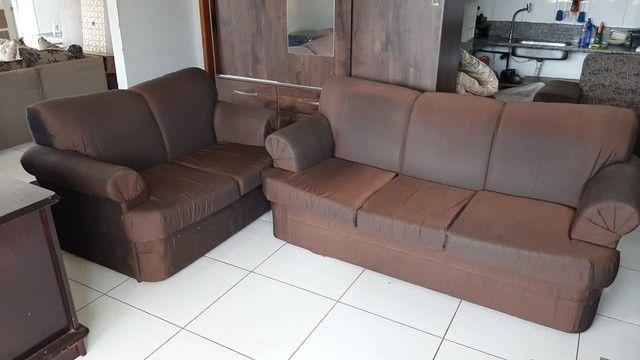 Sofá de 2 e 3 lugares ! Entrega gratis  - Foto 2