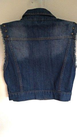 Colete curto jeans Aéropostale - Foto 2