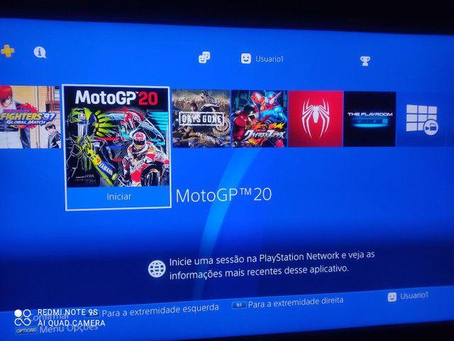 PS4 slim novo DESBLOQUEADO - Foto 4