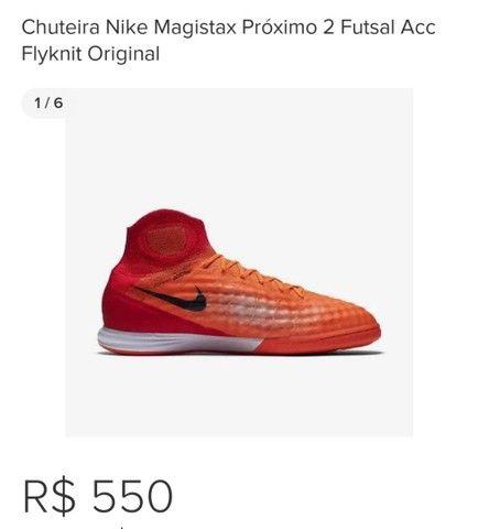 Chuteira Nike Magistax Próximo 2 Futsal Acc Flyknit Original