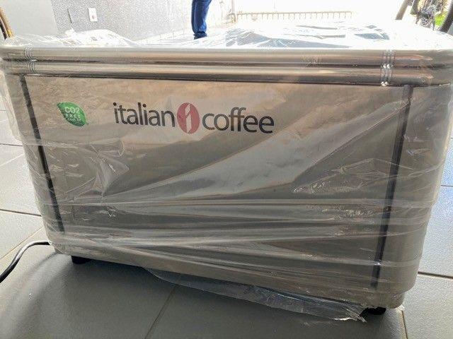 Maquina de café magestic e moinho ck a8 Italian Coffee  - Foto 2