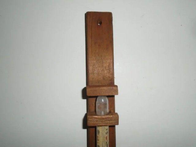 Termômetro Antigo De Parede Para Ambientes - Foto 4