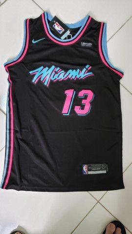Camisa regata NBA Miami heat nr 13 Adebayo tam P
