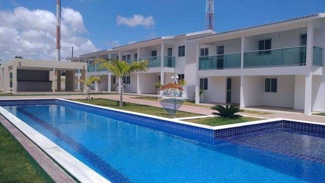 Apartamento com 3 dormitórios à venda, 93 m² por R$ 249.000,00 - Jacumã - Conde/PB - Foto 2