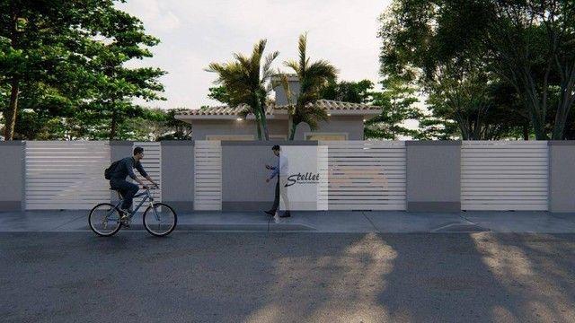 Excelente casa linear com 3 dormitórios à venda, 70 m² por R$ 310.000 - Enseada das Gaivot - Foto 8
