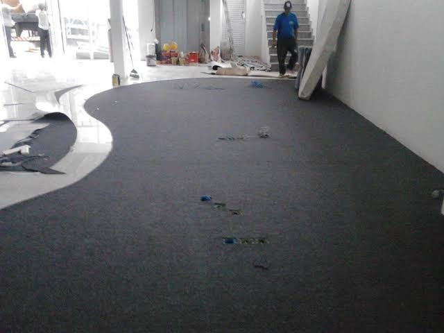 Carpete para escritório e salas comercias