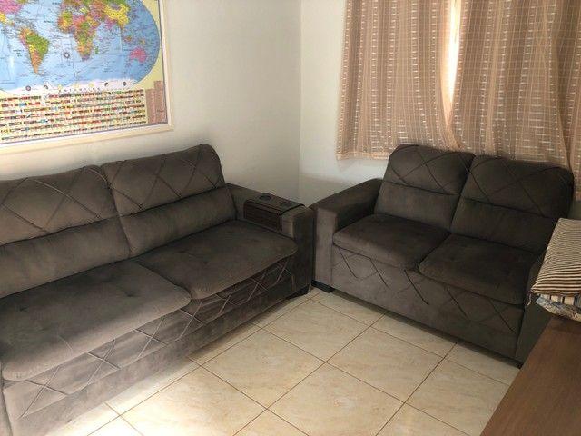 Sofá de 2 peças - 5 lugares - Foto 3
