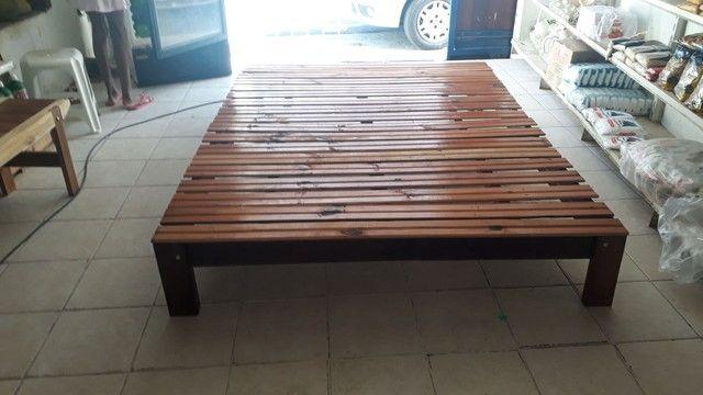 Palet e madeira rústicas