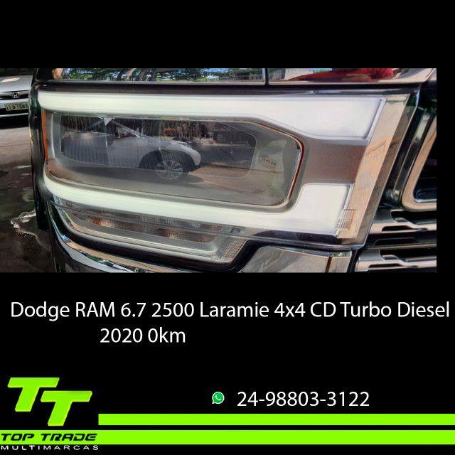 Dodge RAM 2500 Laramie 6.7 TDI Cd 4x4 Diesel 2020 0km - Foto 9