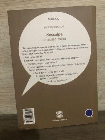 Livro desculpe a nossa falha - Foto 3