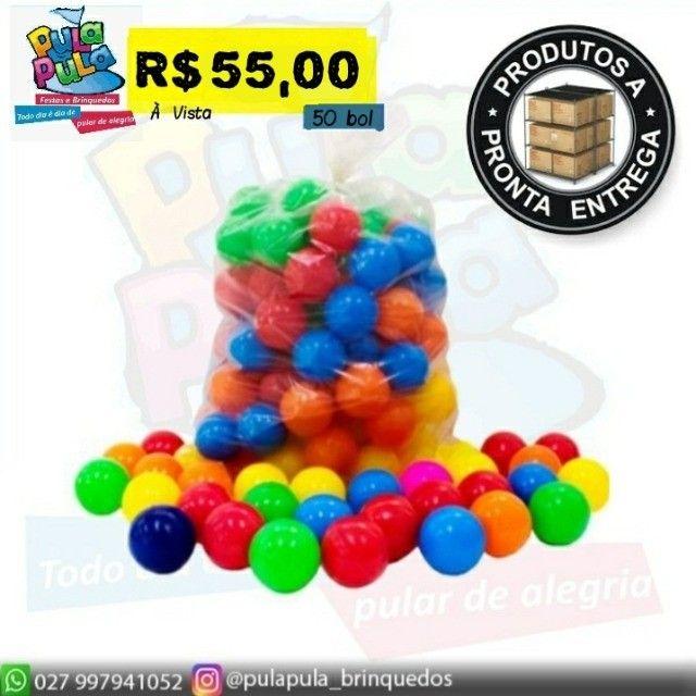 Bolinha colorida - ideal para piscina em vários modelos - o melhor preço do ES! - Foto 3